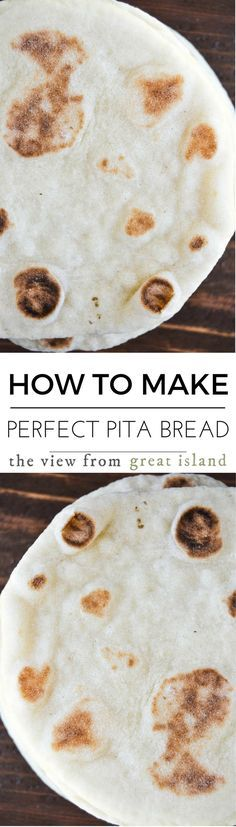 How to Make Perfect Pita Bread Every Time, it's easier than you think, and you'll never go back to the stuff in bags again, guaranteed! | bread | yeast bread | flat bread | Middle Eastern | baking |