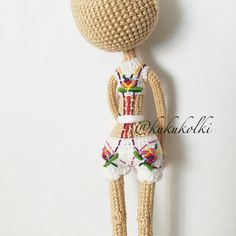 Miss Flower amigurumi doll in the making. (Inspiration).