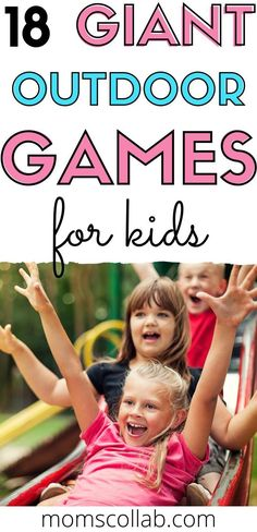 Check out these backyard games for kids and fun activities to do with kids outdoors. These DIY ideas are great for spring, summer, and fall games and activities outside. Some are giant outdoor games, and others like making giant bubbles or lawn games are perfect for warm weather games outside. These DIY outdoor games are great for toddlers, kids, and adults alike. #kidsgames Yard Games For Kids, Backyard Games Kids, Outdoor Games For Kids, Fun Activities To Do, Giant Lawn Games, Giant Outdoor Games, Fall Games, Giant Bubbles, Time In The World