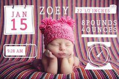 Baby & Newborn Photo Overlays for Professional Portrait Photographers   Design Aglow