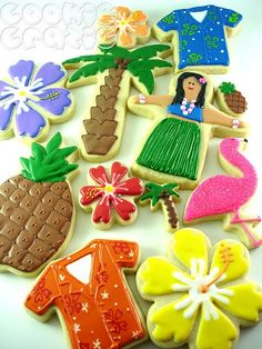 Decorated Summer Cookies