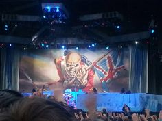 IRON MAIDEN BABY. seen them twice, best performers ever