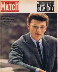 Couverture DE Magazine Paris Match N° 693 21 07 62 Johnny Hallyday | eBay