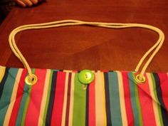 Great Beginner Tote Bag Project - Turn cloth napkins into a cool tote bag.