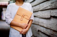 Handmade 11 MacBook Air Leather Envelope Case by LoraynLeather, $168.00