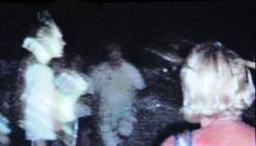 This photo was captured from the ST. Augustine episode of Ghost Adventures. Notice the ghostly figure to the left. It is claimed to be Andrew Ransom, a rather ruthless English Pirate, who lived during the 1600's. When the picture was snapped, he was not seen by anyone else at the time.