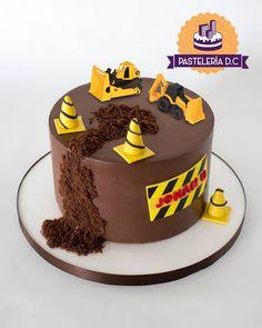 Baby Boy Cakes, Cakes For Boys, Cake Decorating Videos, Decorating Hacks, Fathers Day Cake, Construction Birthday Parties, New Cake, Cake Art, Birthday Cake