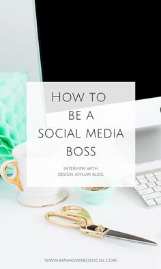 Learn how to be a social media BOSS with this interview with Kellie Smith of Design Asylum Blog, she is spilling all of her social media tips for bloggers!