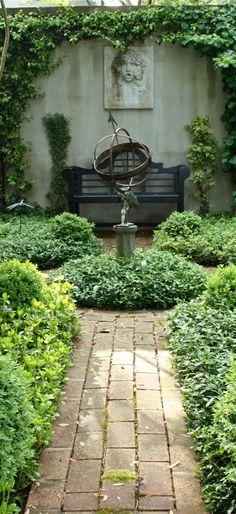 private garden in #Charleston.