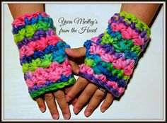 Ravelry: Starlight Dreams Wristers pattern by Yarn Medley's from the Heart