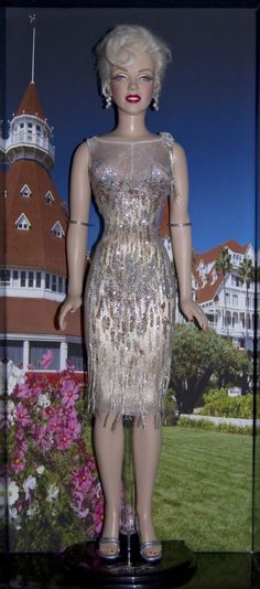 Image detail for -doll kim goodwin marilyn monroe dolls dress from jfk s birthday kim ...