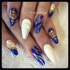 OMG I need to get my nails done! I love these!!!