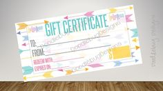 Lula Gift Certificate, Free Fast Personalize, Home Office Approved, LLR Gift  Cards, Surprise Cards, 8.27 X 3.74, For Lularoe Retailer | Gift Certificates,  ...