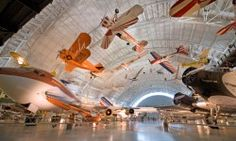 The Smithsonian National Air and Space Museum holds the world's largest collection of aircraft and spacecraft. To display so many treasures, the Steven F. Udvar-Hazy Center opened in 2003 in Chantilly, VA.