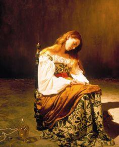 Tilda Swinton in Caravaggio (1986) directed by Derek Jarman