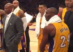 "Kobe Bryant and Dwight Howard were hit with double-technicals after getting into it during the season opener between the teams on Tuesday night, and the two exchanged some words afterwards. Though cameras showed Kobe calling Dwight ""soft"" and saying, ""try me"" to his former teammate, that was just the tame version of what was said. …"