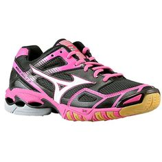 Mizuno Wave Bolt 3 - Women's - Volleyball - Shoes - Black/Pink