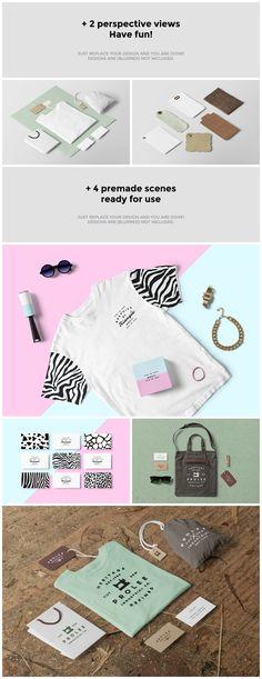 Clothing / Fashion / T-Shirt Mockup by forgraphic™ on @creativemarket