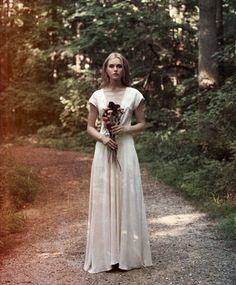 lindsey thornburg // Ivory Silk Heroine Gown