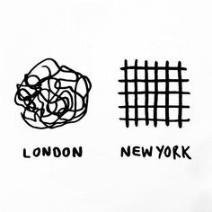 london vs ny - I am totally going to print this out when we move back