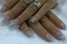 #nailsdesigns #uñas #nailart #fashion #diamond