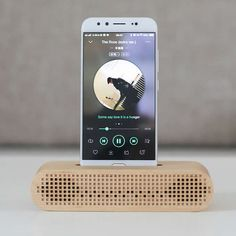 Wooden Portable Cell Phone Stand Phone Holder with Sound Amplifier Amplification Stands for iPhone 8 8 Plus 77 Plus on sale,buy your favorite Christmas gifts,gift ideas,unusual gift,Cool stuffs and unique design on www. Cell Phone Stand, Cell Phone Holder, Wooden Speakers, Diy Router, Wooden Words, Skills To Learn, Unusual Gifts, Pen Holders, Iphone 8