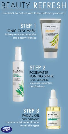 Need a beauty refresh? Try this trio of Botanics natural products for just that!