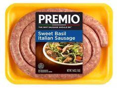 Sweet basil Italian sausage