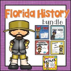 Florida History Bundle: Perfect for 4th grade Florida curriculum. White's Workshop