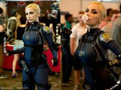 Cassie Cage cosplay