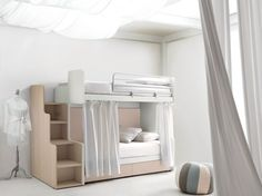 Bedroom set with bunk beds CITYNEW 160 by Doimo CityLine