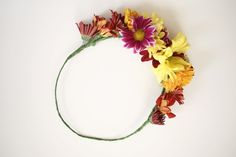 DIY Flower Crown (REAL FLOWERS!) #Fashion #Musely #Tip