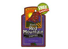 Get a FREE Sample of Kona Red Mountain Coffee!