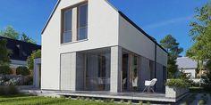 Villa Swiss - gotowy projekt domu katalogowego Villa, Mirror, Furniture, Home Decor, Projects, Decoration Home, Room Decor, Mirrors, Home Furnishings