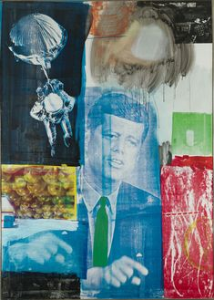 My Friend Robert Rauschenberg Robert Hughes  Rauschenberg's references to other media aren't just tricks. They're an integral part of the way he connects the language of his images to that of a wider world.