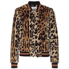 VIFLEUR LEO JACKET (5.750 RUB) ❤ liked on Polyvore featuring outerwear, jackets, leopard print jacket, leopard jacket and brown jacket