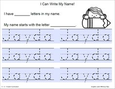I have added some writing name activities to 1 - 2 - 3 Learn Curriculum....