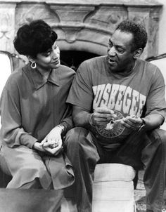Claire and Cliff from The Cosby Show