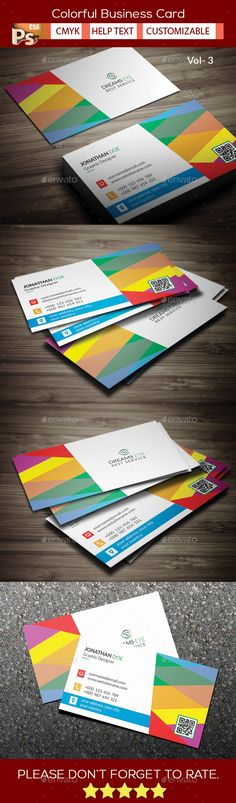 Colorful Business Card V.3