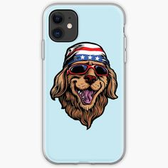 'American Golden Retriever' iPhone Case by LazyKoala American Golden Retriever, Iphone 11, Iphone Cases, Canvas Prints, Art Prints, Cotton Tote Bags, My Arts, Type, Printed