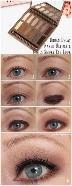 Urban Decay Naked Ultimate Basics Palette Smoky Look Tutorial
