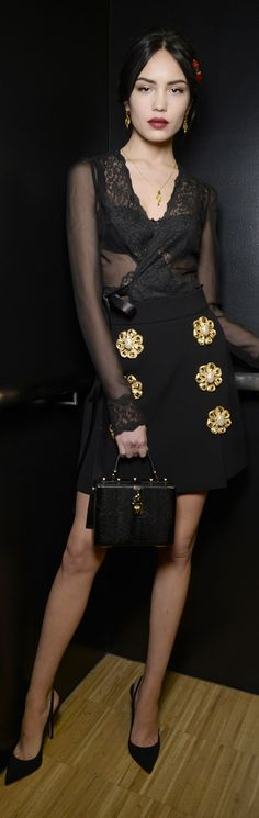 Dolce and Gabbana winter 2015