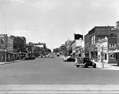 McCook, Nebraska, had a wide, brick-paved main street in November 1950. THE WORLD-HERALD  Like anything you see? Contact Michelle at michelle.gullett@owh.com or call 402-444-1014 to purchase prints.