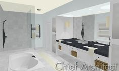 Best Master Bathroom Designs -   1500 Bathroom Designs Best Interior Unique Photos Images   Best bedroom designs   martha stewart In this savannah georgia master bedroom a ceiling fan with mahogany blades and tongue-and-groove wood paneling convey a cottage feel. plantation shutters create. How  build  master bathroom vanity   bathroom ideas Carter builds a custom vanity to fit perfectly within this bathroom.. Bathroom shower designs  hgtv  This art deco bathroom has inset doors and handmade…