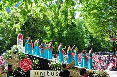 2015 #Portland Rose Festival  Glimpses of Grand floral Parade through my Camera :)