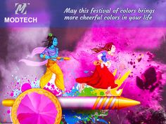 Modtech wishes you all a very happy and colorful Holi!!!