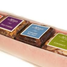brownie packaging - colours. - stickers