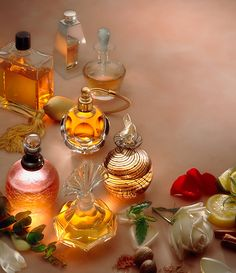 Perfume bottles by rossstudio, via Flickr