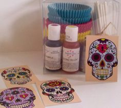 Day of the Dead Cupcake Decorating Kit!