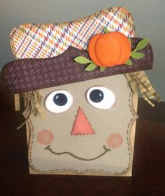Stampin' Up! Scarecrow Card by Stamp Your Dream with Julie Ramos: Gettin' Crafty For The Fall